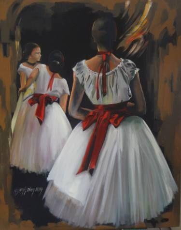 "Saatchi Art Artist Seba Art Gallery; Painting, ""YASEMIN DIREN"" #art"