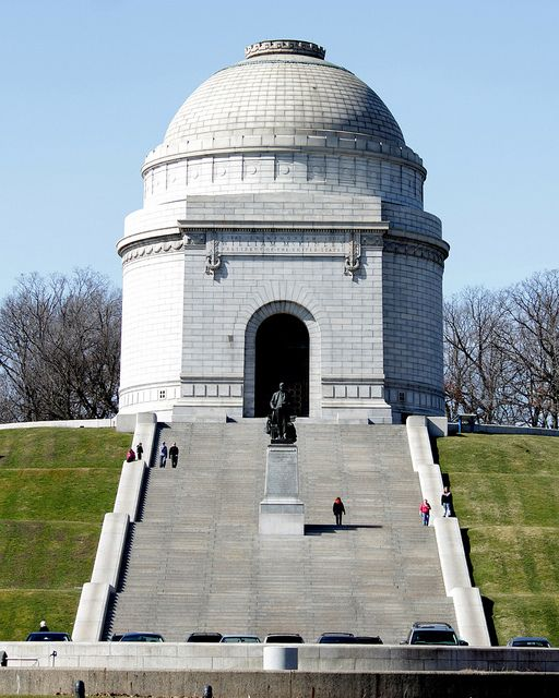 The McKinley Memorial in Canton, Ohio.  Final resting place of William McKinley, 25th President of the United States, who served from 1897 to his assassination in 1901.