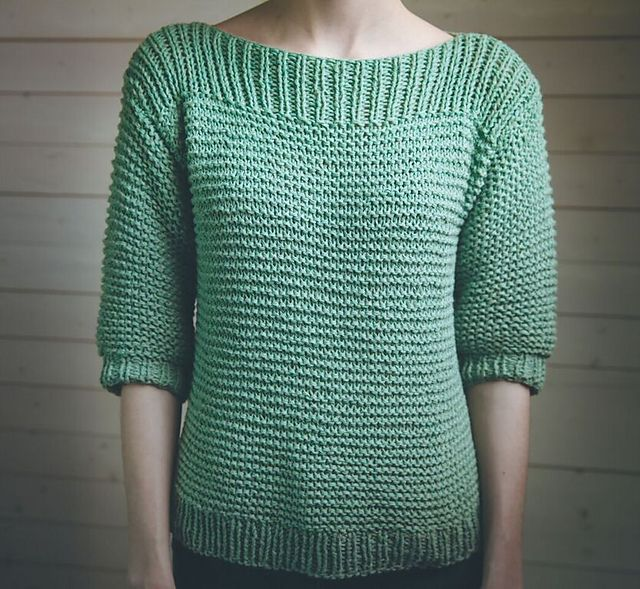 "Ravelry: ""Luna"" Sweater pattern by Kairi Aksnes"