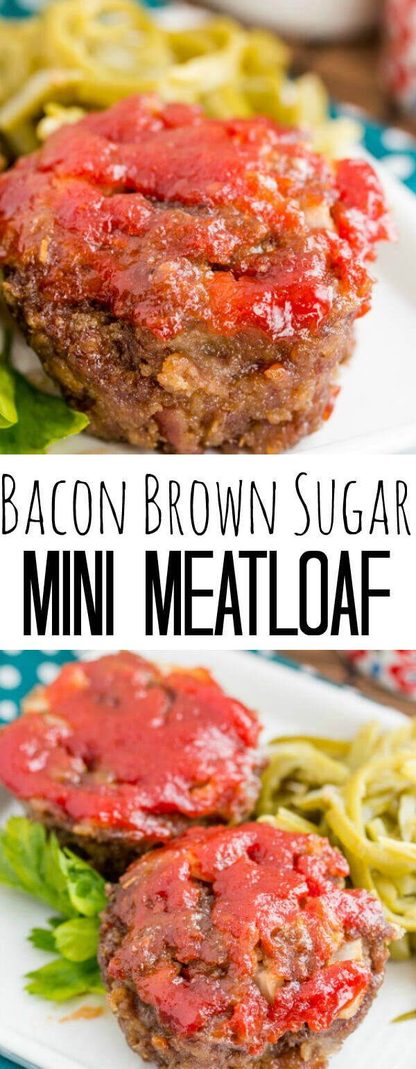 A fun single serving dinner recipe this Brown Sugar Mini Meatloaf is a smokey and sweet mean that is perfect for the whole family. I'm a huge meatloaf fan. I mean huge. I never knew that there were actually people out there who despised meatloaf! I mean come on! It[Read more]