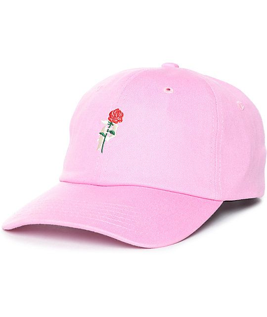 02a819f7429 Primitive Heartbreakers Pink Strapback Hat