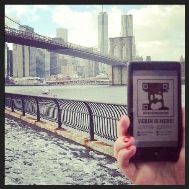 @#VerdiMuseum #foundverdi at the Brooklyn Bridge! :-) Thank you @robyrabelli