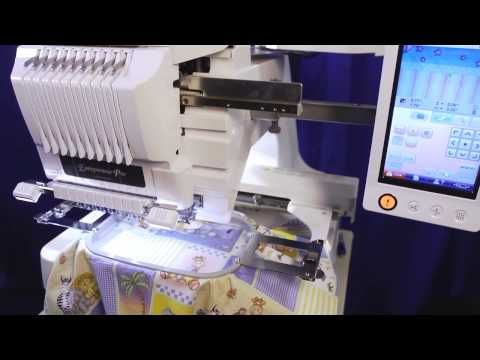 Things I can do now that I have this machine! Brother™ Entrepreneur® Pro PR1000e 10-needle Home Embroidery