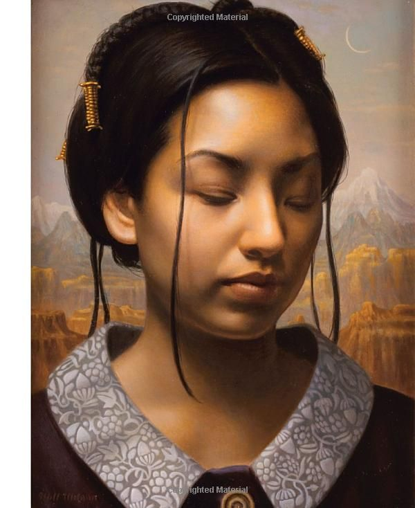 Exquisite traditional portrait by Suzanne Brooker - her book is available at Amazon.