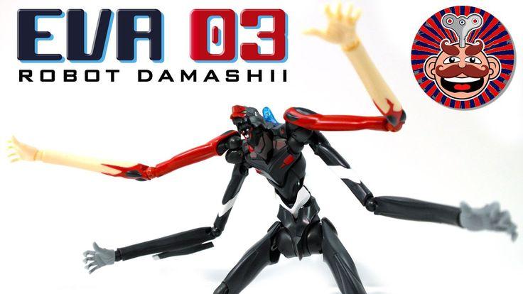 Eva Unit 03 Figure REVIEW by Monsieur Toys  Robot Spirits Damashii