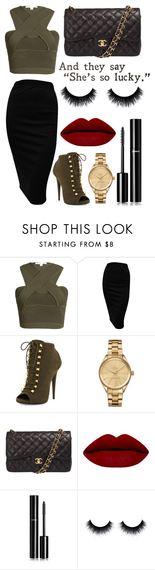 """Untitled #91"" by rodoulla97 on Polyvore featuring Jonathan Simkhai, Giuseppe Zanotti, Lacoste, Chanel, women's clothing, women's fashion, women, female, woman and misses"