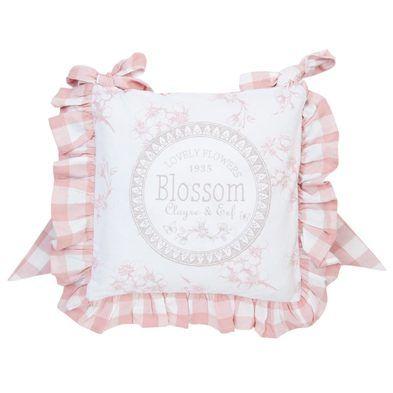 Clayre & Eef webshop voor winkeliers::Woontextiel::Kussens en vullingen::Stoelkussens en hoezen::LBF25 Stoelkussen hoes