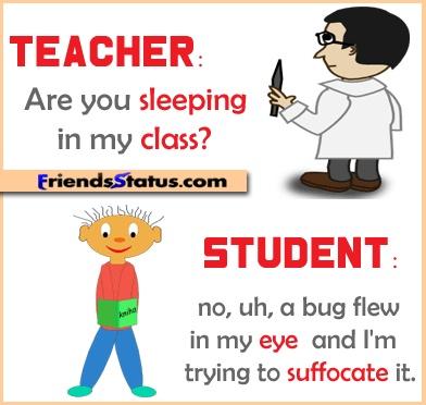 Teacher-student joke