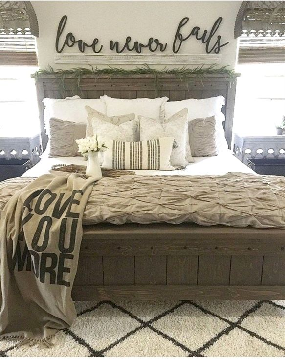 Amazing Farmhouse Style Master Bedroom Ideas 24 Bedroom Bedroom