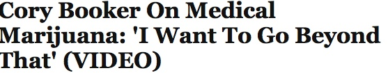 Cory Booker On #Medical Marijuana: 'I Want To Go Beyond That' (VIDEO)  http://www.huffingtonpost.com/2012/12/17/cory-booker-marijuana_n_2274494.html?utm_hp_ref=new-york%20%20  #marijuananews #Cannabisnews #mmj #mmot #followthebuzz