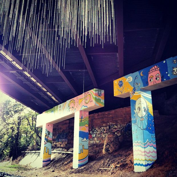 "Art along the Atlanta beltline. -- HuffPost Travel's ""CityLove: Tour Atlanta by Instagram"""