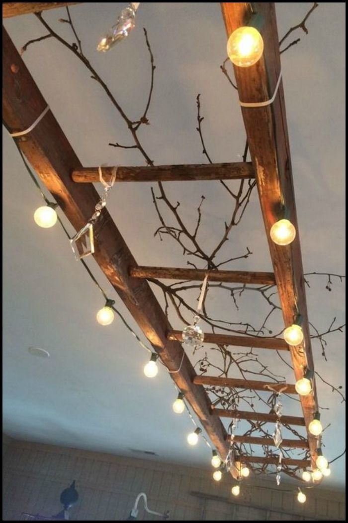This is just one way you can put an old ladder to good use. Get 33 more ideas by heading over to our site!