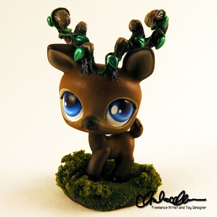 Forest Spirit Elk Custom LPS by thatg33kgirl on DeviantArt