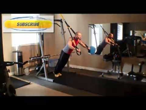Bounce Life Systems TRX Chest Press Tutorial. How to do TRX Chest Press