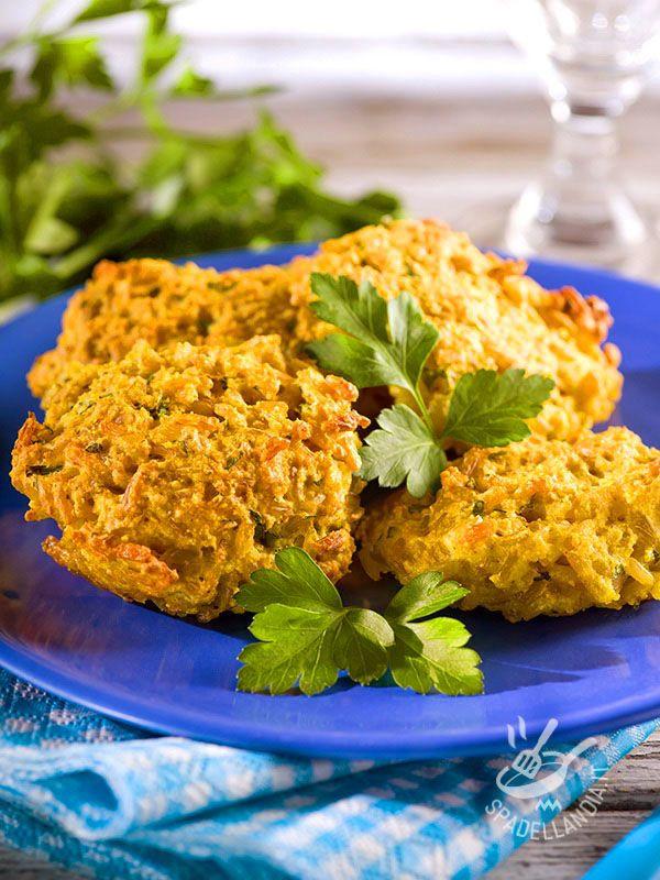 Crocchette di riso e verdure senza burro senza uova (Vegan)