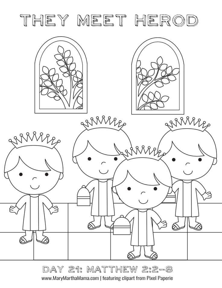 Advent Coloring Pages: 24 Free Printable Pages for Kids