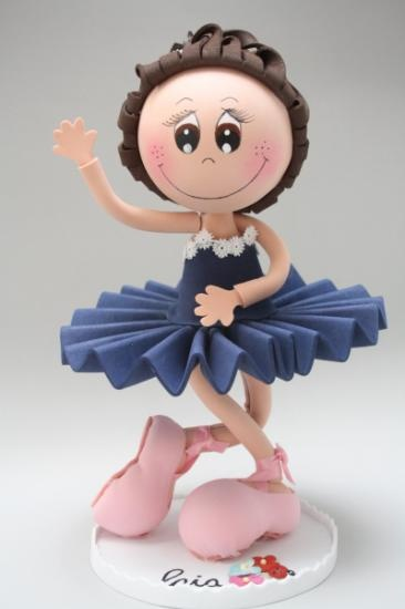 ballerina in fun foam (photo)