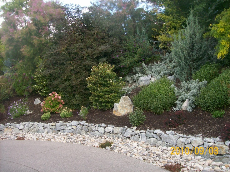1000 images about hillside landscaping on pinterest for Hillside landscaping