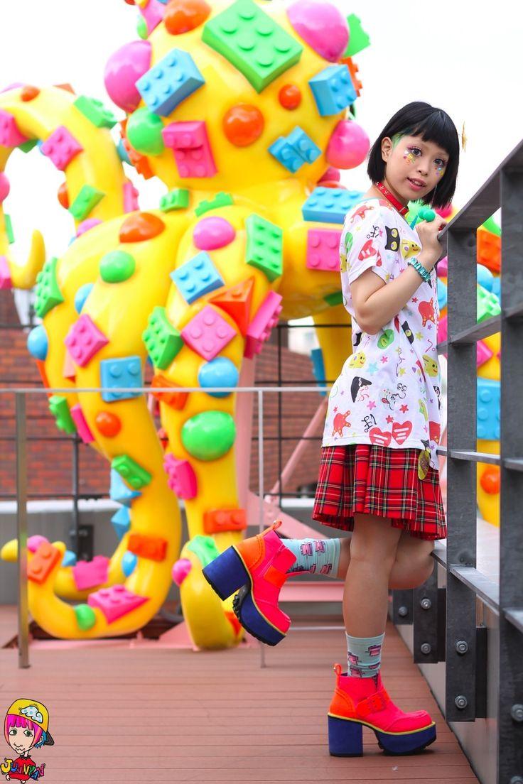 Cute Harajuku kawaii style