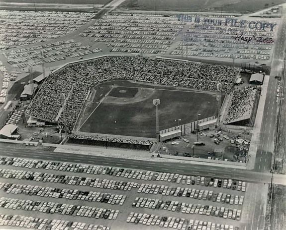 Houston Colt 45's(Renamed the Astros):Colt Stadium. 1962-1964.
