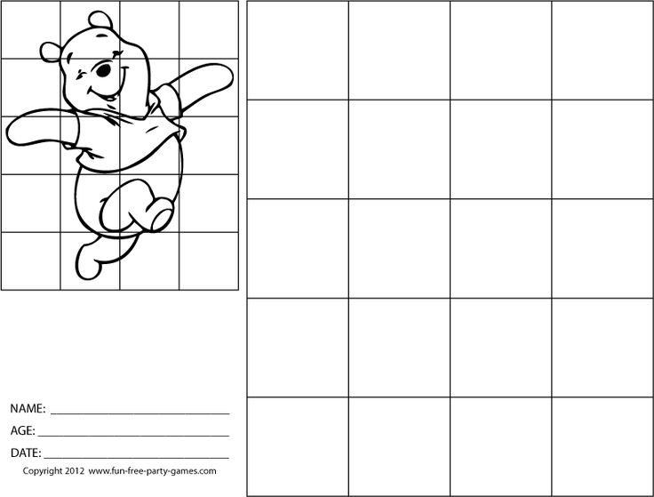 drawing with grids how to draw winnie the pooh 800 608 pixels art for the. Black Bedroom Furniture Sets. Home Design Ideas