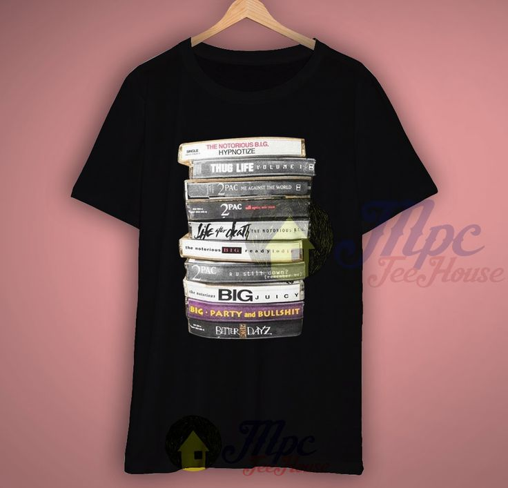 Like and Share if you want this  Notorious Big 2 Pac Cassette Tape Collection T shirt     Notorious Big 2 Pac Cassette Tape Collection T shirt Available For Men and Women Available Size S-2Xl.   MPCTeeHouse made and sale premium t shirt gift for him or her. I use only quality shirts such as Fruit of the Loom or Gildan. The process used to make ...    Tag a friend who would love this!     FREE Shipping Worldwide     Get it here…
