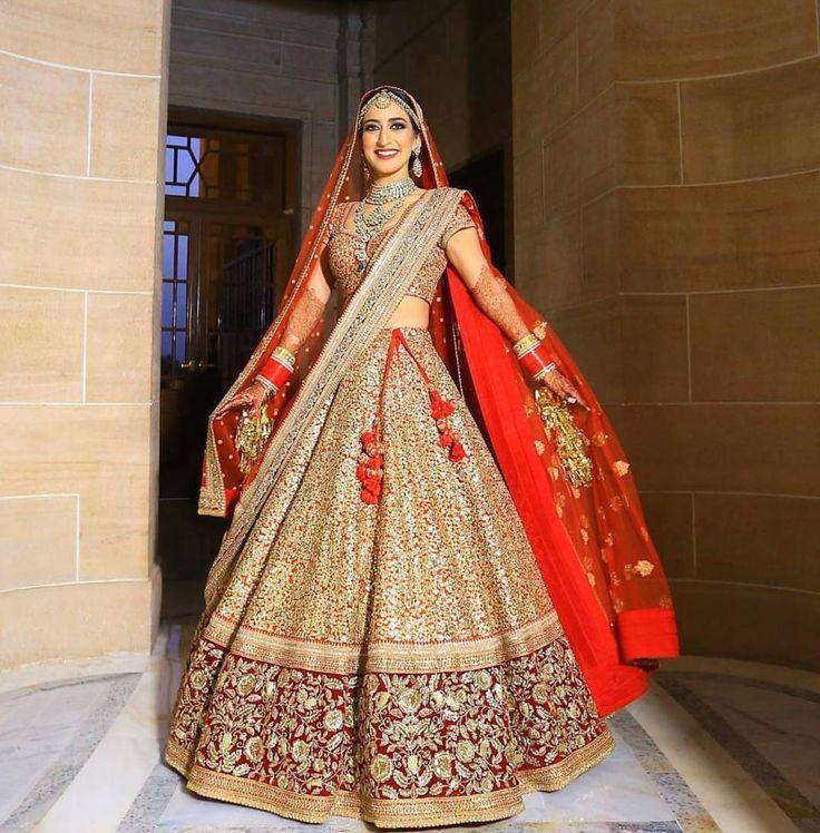 Indian Wedding Dresses Bridal Wear Bride Lehenga Punjabi Outfits