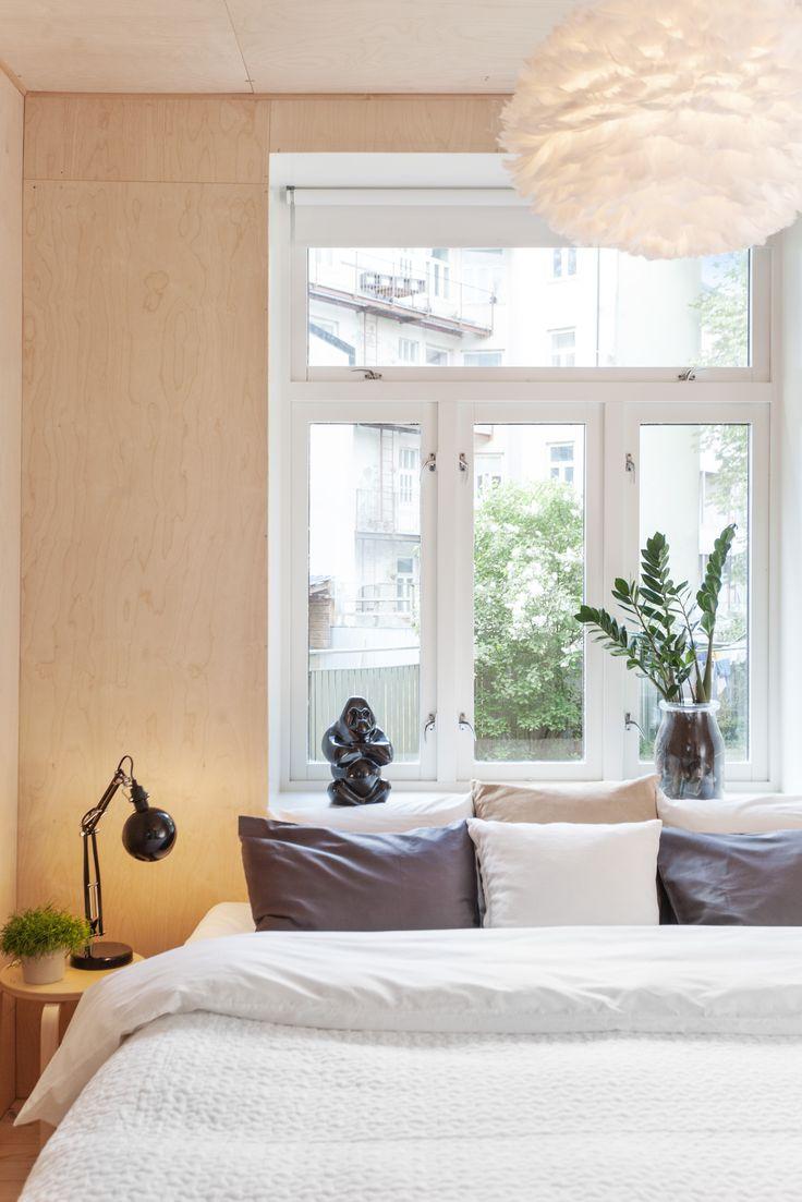 Plywood bedroom. Architect/designer, Lisa Wettsjö+Gustav Wettsjö
