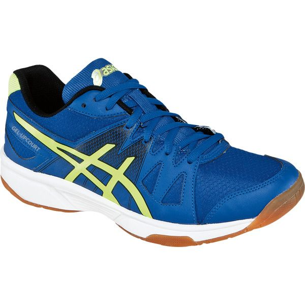 Asics Men's Gel-Upcourt in Blue/Flash Yellow/Black
