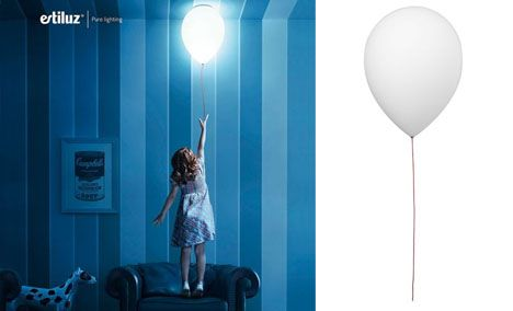 Balloon-Shaped Ceiling & Wall Lights