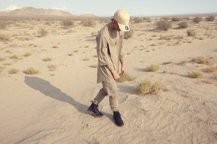 streetwear, mens style, mens fashion, menswear, khaki, tracksuit, distressed, desert, lookbook, look book, yeezy, supreme, trend, autumn, fall, winter, dad hat, curved peak, trend, spring 17, spring 2017,