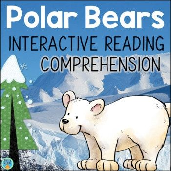 Learn about polar bears while practicing essential comprehension skills like main idea, context clues, vocabulary, and text features. Topics include: • Habitat • Polar Bear Cubs • Adult Polar Bears • Diet • Adaptations • Polar Bears in Danger. Perfect for integrating science into reading instruction! Second grade and third grade