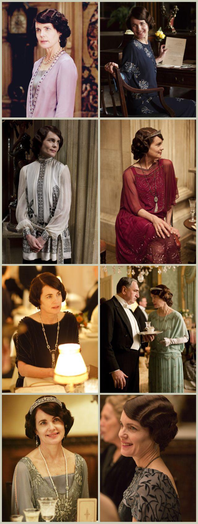 Elizabeth McGovern as Cora Crawley, Countess of Grantham, Downton Abbey season 4