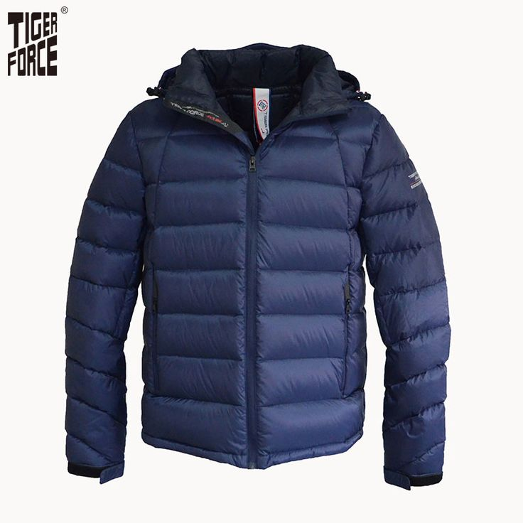 Find More Down Jackets Information about TIGER FORCE 2016 New Design Men Fashion 90% White Duck Down Jacket Casual Winter Down Coat Detachable Hood Free Shipping D 605,High Quality hat mink,China hat cap Suppliers, Cheap hat party from TIGER FORCE on Aliexpress.com