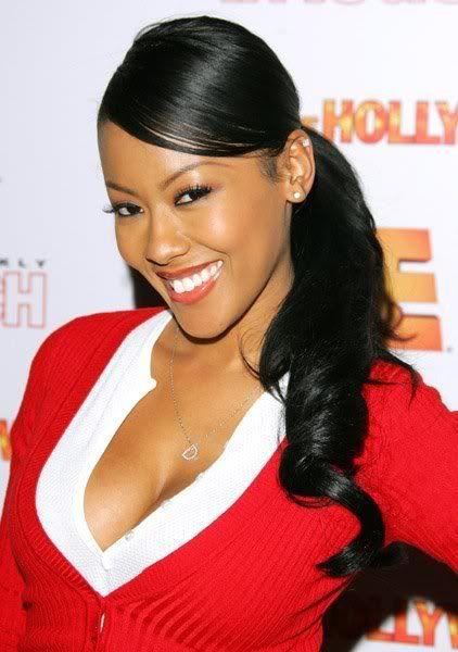 Sexy Denyce Lawton Photos Black And Korean Actress