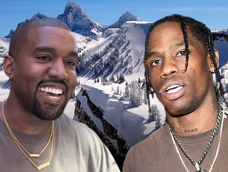 Kanye West Returns to Wyoming to Write Songs with Travis Scott & Co.   ||  Kanye West has a little posse with him in Wyoming, where he's presumably working on his new album. http://www.tmz.com/2018/03/12/kanye-west-returns-wyoming-retreat-mountaintop-travis-scott-new-album/?utm_campaign=crowdfire&utm_content=crowdfire&utm_medium=social&utm_source=pinterest