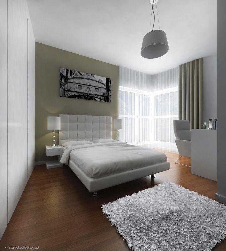 Projekt sypialni, mieszkanie prywatne Warszawa, jedna z koncepcji    http://altrostudio.com.pl  http://www.facebook.com/biuro.altrostudio
