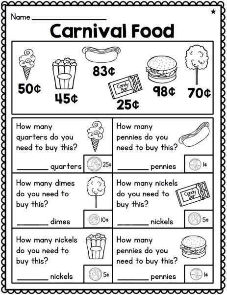 First Grade Money Unit | Teaching money, 1st grade ...