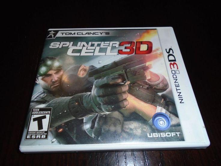 Nintendo 3 DS Spinter Cell 3D Complete Box, booklet, game, Français / English