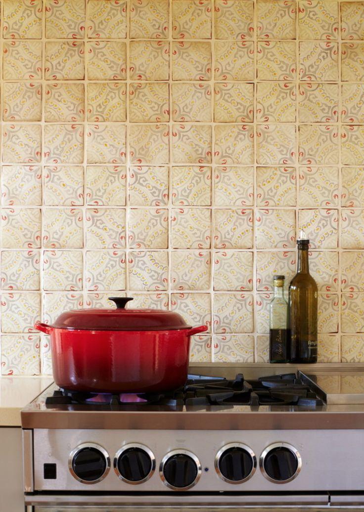 Terracotta Kitchen Backsplash Tile