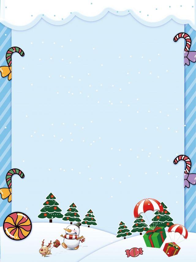 Minimalistic Cartoon Christmas Blue Background Blue Background Wallpapers Blue Christmas Background Christmas Tree Background