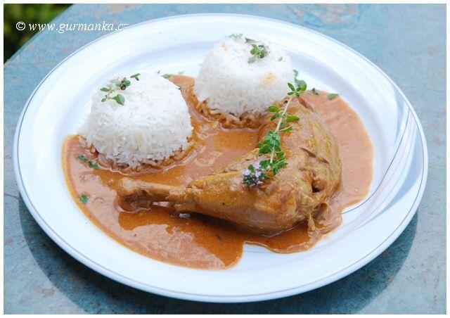 Kuře na paprice - evergreen z domácí kuchyně