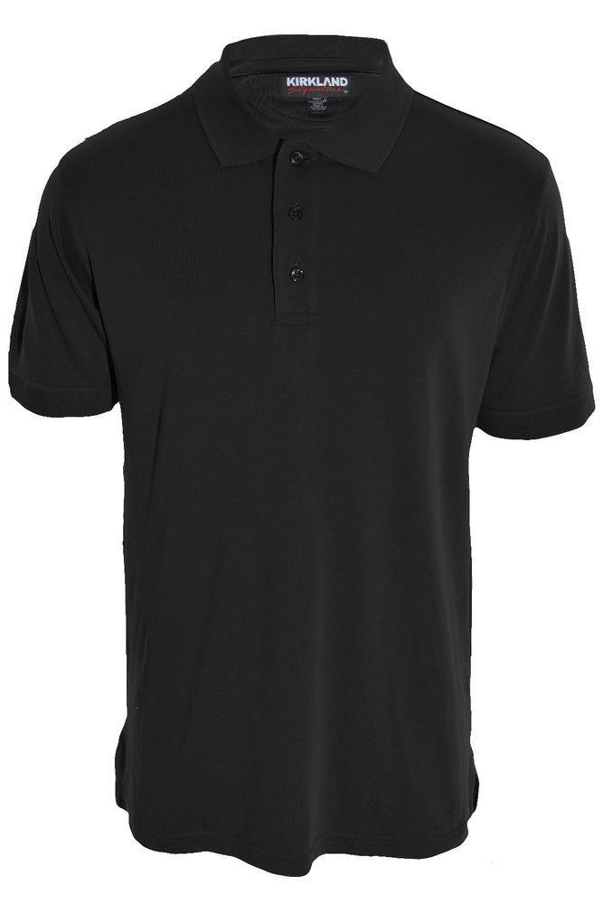 Kirkland Supima Cotton Polo Shirt Short Sleeve Mens S M