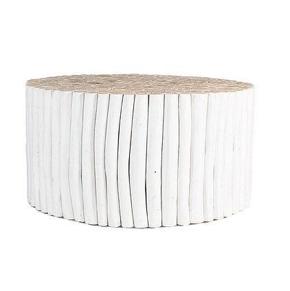 white uniqwa takke coffee table
