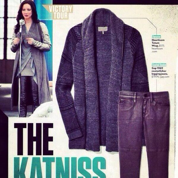 Hunger Games / Catching Fire / Katniss's Outfit / Costume
