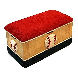 Magical Harmony Kids Baseball Wooden Toybox - Baby - Toddler Furniture - Sets