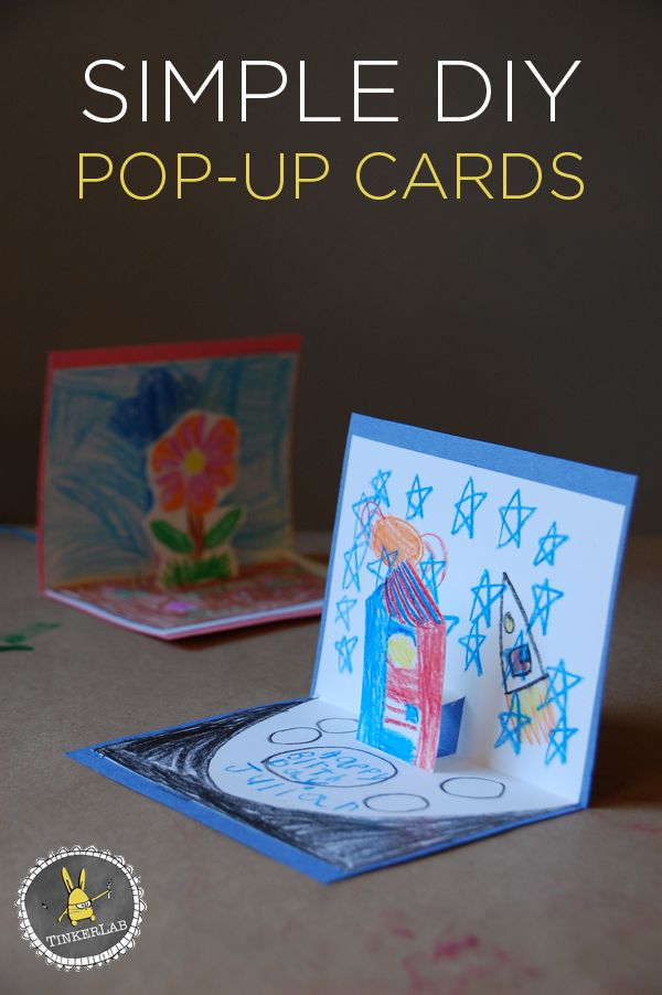 Unique DIY Pop Up Books Ideas On Pinterest Popup Pop Up And - How to make a pop up birthday invitation