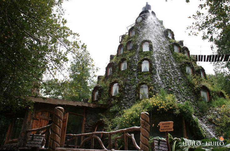 Hotel La Montaña Mágica in Huilo Huilo, a private Natural Reserve in the Los Rios region of Chile