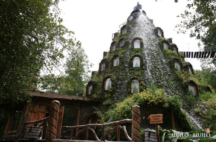 Hotel La Montaña Mágica in Huilo Huilo, a private Natural Reserve in the Los Rios region of Chile