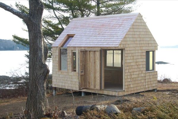 Writer s block tiny cabin and boat house tiny house pins small structures inspiration - The writers cottage inspiration by design ...